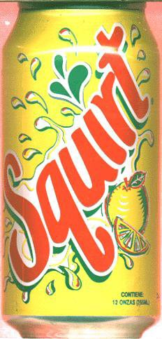 SQUIRT SODA FLAVOR