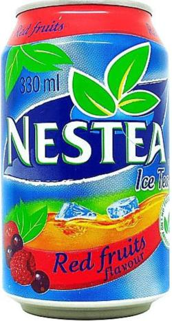 NESTEA-Ice tea -red-330mL-South Africa Nestea Can