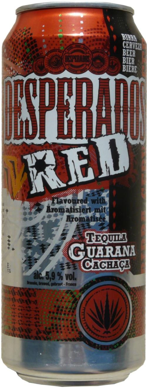 Desperados Beer With Tequila Flavor 500ml Red Tequila Guaran France