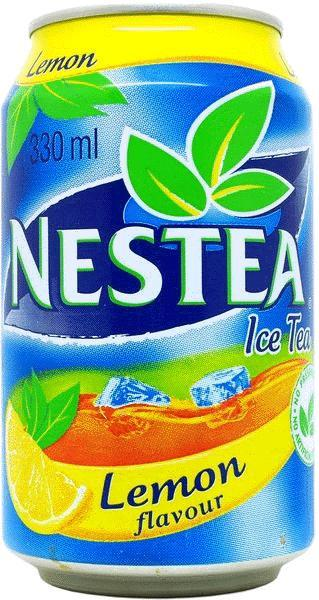 NESTEA-Ice tea -lemon-330mL-South Africa Nestea Can