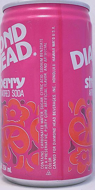 diamond head strawberry soda