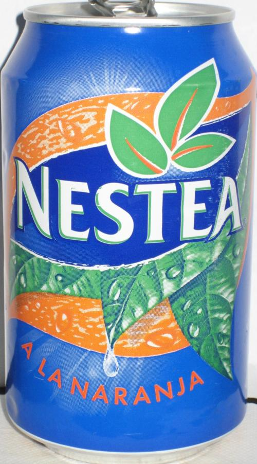 NESTEA-Ice tea -orange-330mL-Spain Nestea Can