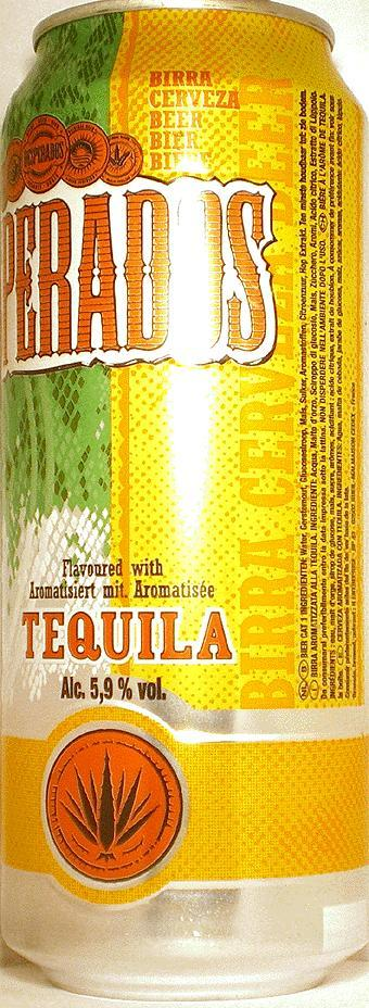 Desperados Beer With Tequila Flavor 500ml France