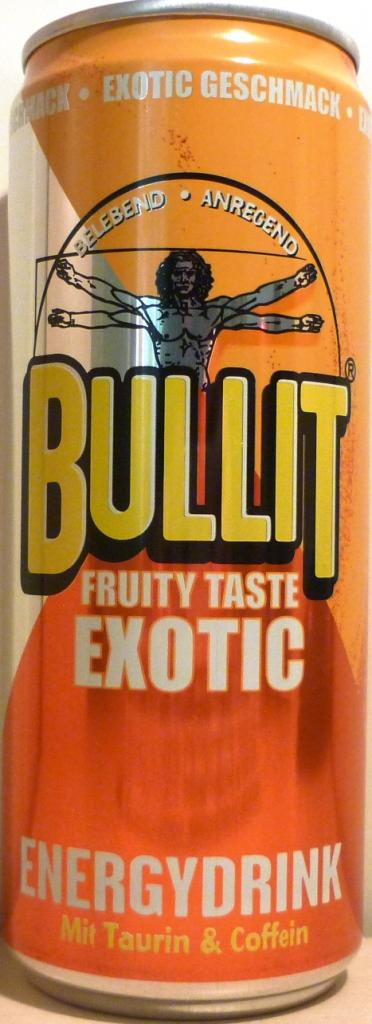 bullit energy drink tropical 330ml fruity taste exotic. Black Bedroom Furniture Sets. Home Design Ideas