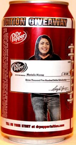 dr pepper tuition giveaway dr pepper cola 355ml tuition giveaway ma united states 511