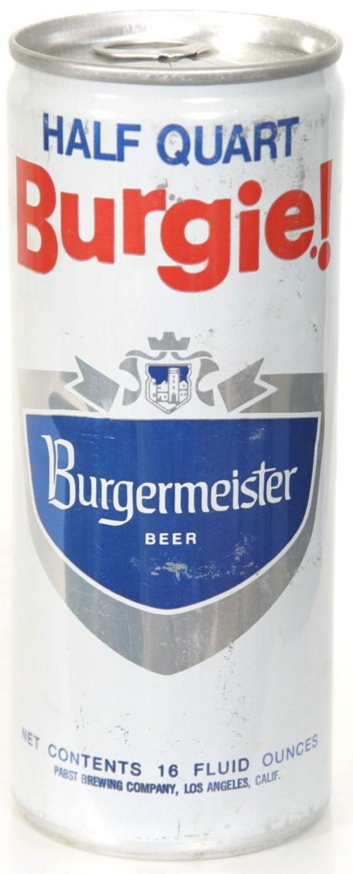 Burgermeister Beer 473ml United States