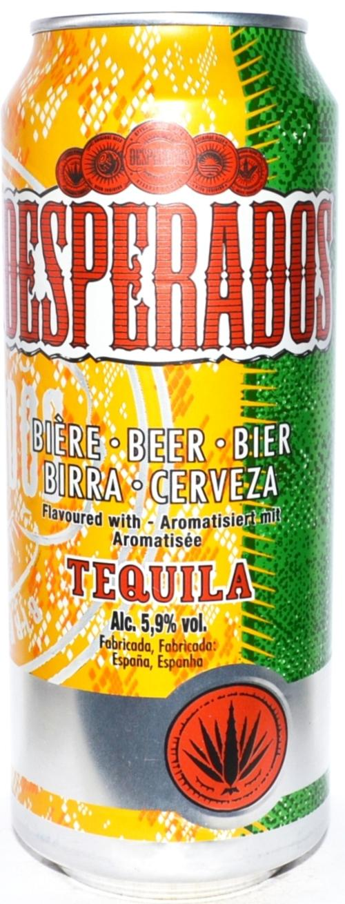 Desperados Beer With Tequila Flavor 500ml Can For Spain Por Spain