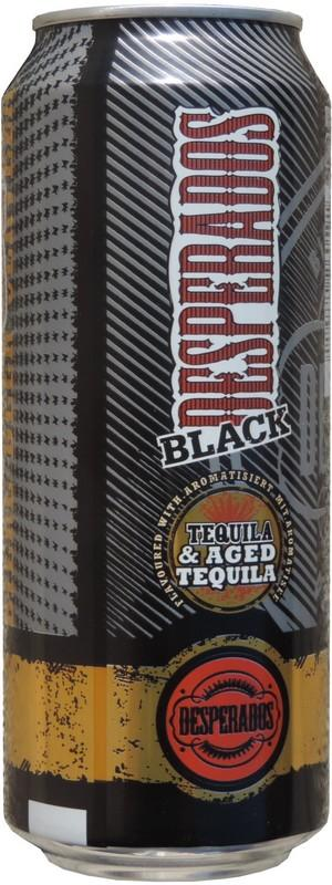 Desperados Beer With Tequila Flavor 500ml Black Tequila Ag France