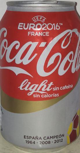 Coca Cola Cola Caffeine Free Diet 330ml Light Sin Cafeina Spain