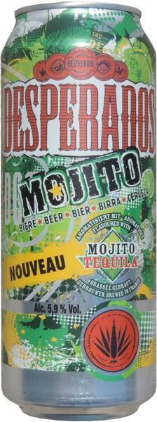 Desperados Beer With Mojito Flavor 500ml France