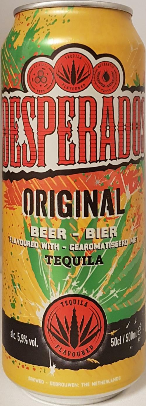 Desperados Beer With Tequila Flavor 500ml Netherlands
