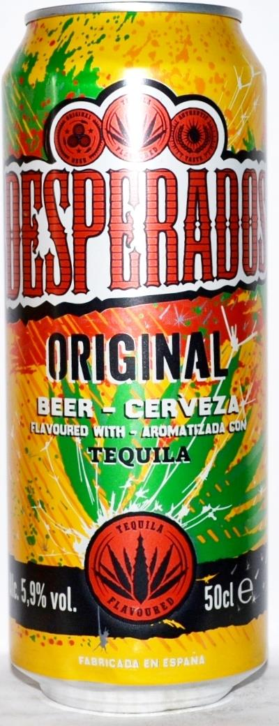 Desperados Beer With Tequila Flavor 500ml Spain